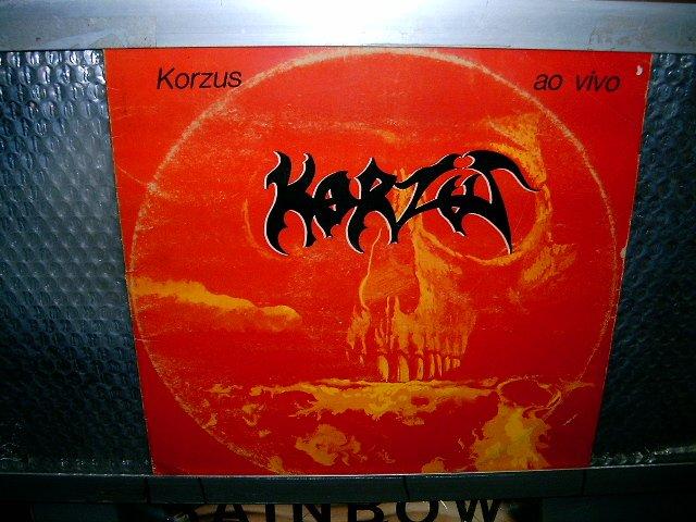KORZUS ao vivo LP 1986 THRASH METAL