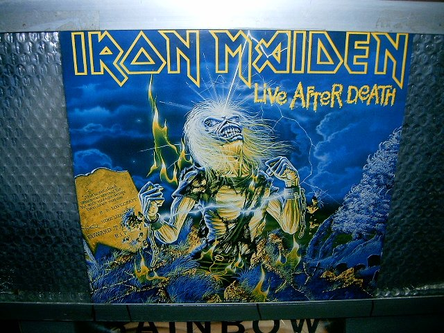 IRON MAIDEN live after death 2LP 1985 HEAVY METAL