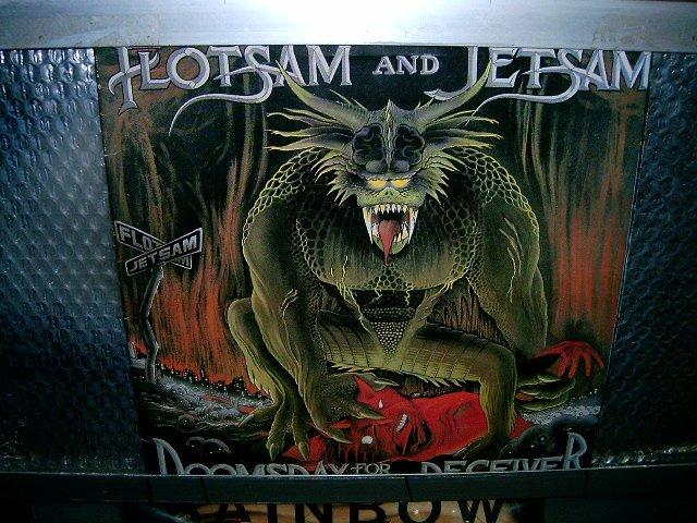 FLOTSAM & JETSAM doomsday for the deceiver LP 1987