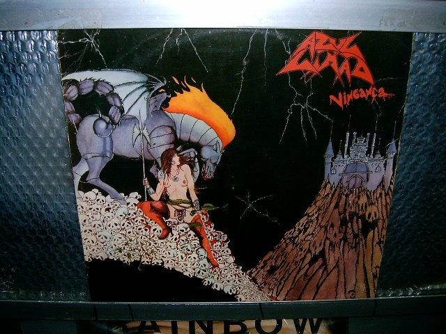 AZUL LIM�O vingança LP 1986 HEAVY METAL*