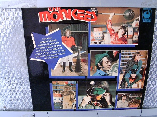 THE MONKEES the monkees LP 1966 ROCK