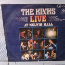 THE KINKS live at kelvin hall LP 1967 ROCK**
