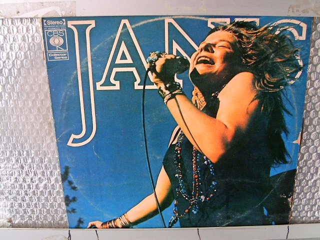 JANIS JOPLIN early performances 2LP 1975 ROCK**
