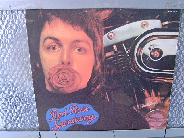 PAUL McCARTNEY & WINGS red rose speedway LP 1973 ROCK**