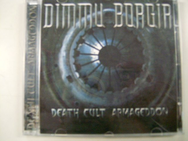 DIMMU BORGIR death cult armageddon CD 2003 BLACK METAL