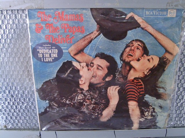 THE MAMAS AND THE PAPAS deliver LP 1967 POP