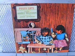 NILSSON pussy cats LP 1981 ROCK**