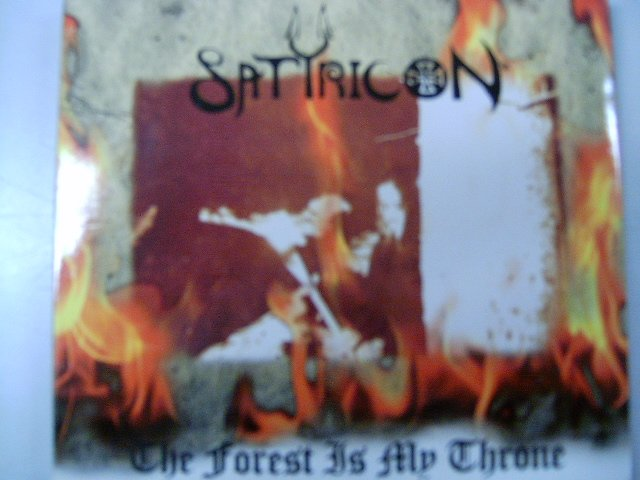 SATYRICON-ENSLAVED the forest is my throne-yggdrasill DIGIPACK CD 1995 BLACK METAL