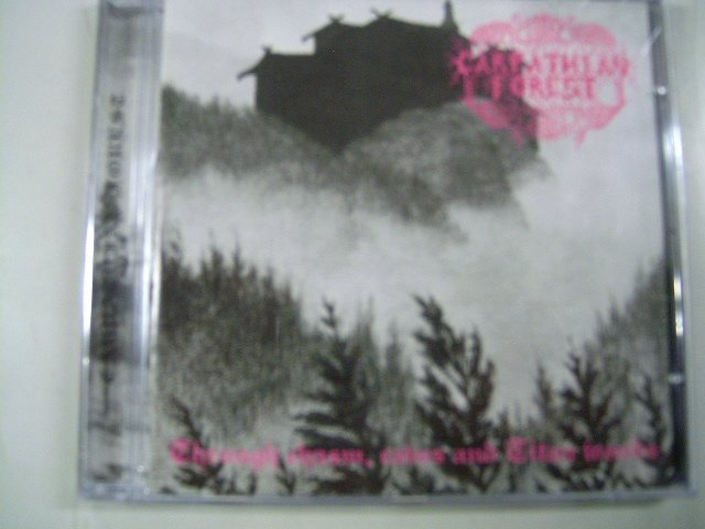 CARPHATIAN FOREST through chasm, caves and titan woods CD 1995 BLACK METAL