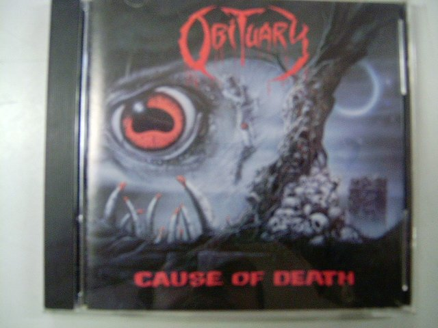 OBITUARY cause of death CD 1990 DEATH METAL