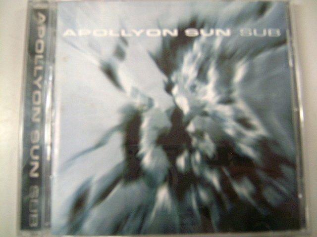 APOLLYON SUN sub CD 2000 INDUSTRIAL METAL