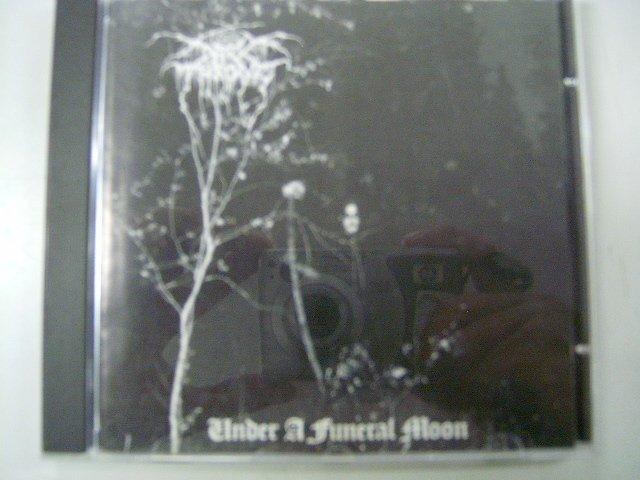 DARKTHRONE under a funeral moon CD 1993 BLACK METAL