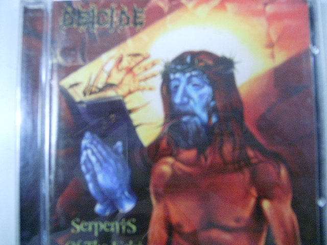 DEICIDE serpents of the light CD 1997 DEATH METAL
