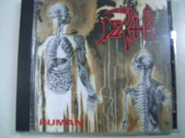 DEATH human CD 1991 DEATH METAL