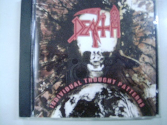 DEATH individual thought patterns CD 1993 PROGRESSIVE DEATH METAL