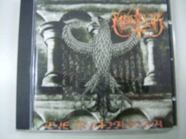 MARDUK live in germania CD 1997 BLACK METAL