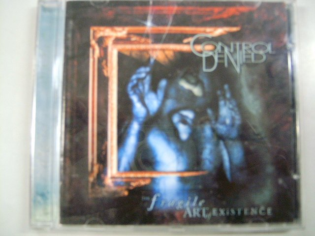 CONTROL DENIED the fragile art of existence CD 1999 HEAVY METAL