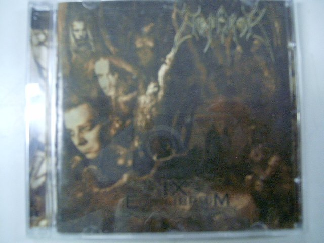 EMPEROR IX equilibrium CD 1999 DEATH BLACK METAL
