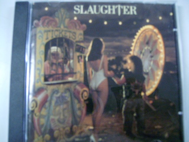 SLAUGHTER stick it live CD 1990 HARD ROCK
