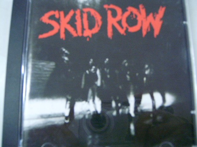 SKID ROW skid row CD 1989 HARD ROCK