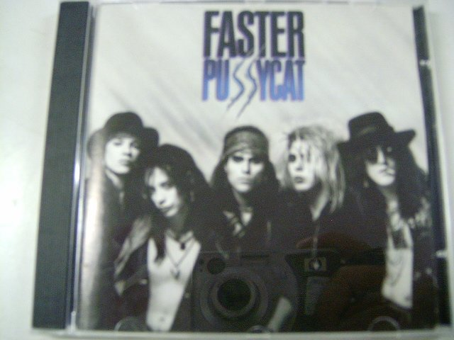 FASTER PUSSYCAT faster pussycat CD 1987 HARD ROCK