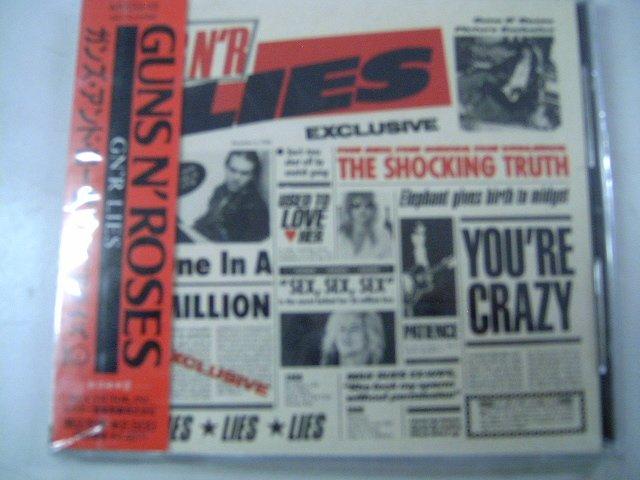 GUNS N' ROSES g n'lies CD 1986 HARD ROCK