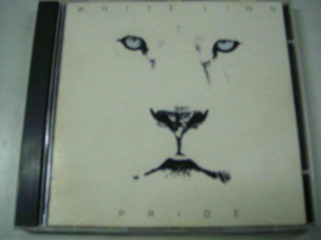 WHITE LION pride CD 1987 HARD ROCK