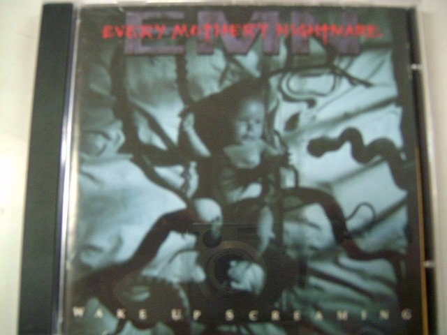 EVERY MOTHER'S NIGHTMARE wake up screaming CD 1993 HARD ROCK