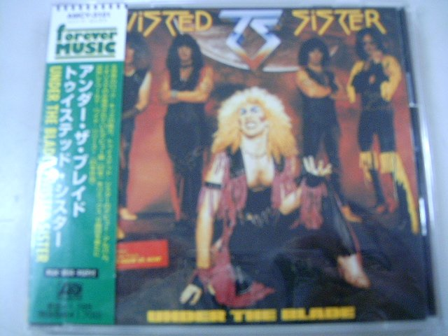 TWISTED SISTER under the blade CD 1982 HARD ROCK