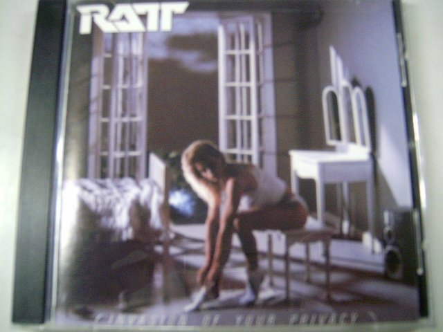 RATT invasion of your privacy CD 1985 HARD ROCK