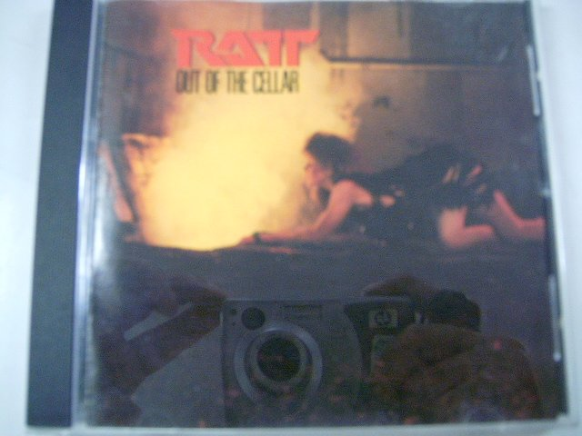 RATT out of the cellar CD 1984 HARD ROCK