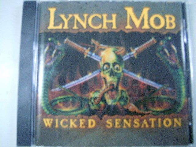 LYNCH MOB wicked sensation CD 1990 HARD ROCK