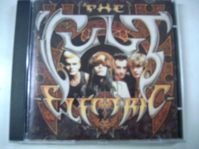 THE CULT electric CD 1987 HARD ROCK
