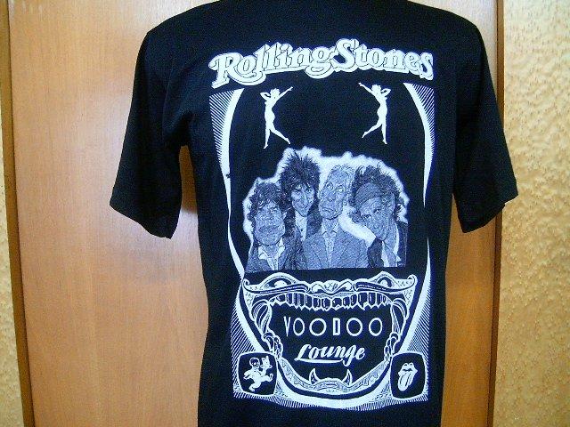 ROLLING STONES voodoo lounge  T SHIRT  BLACK  L