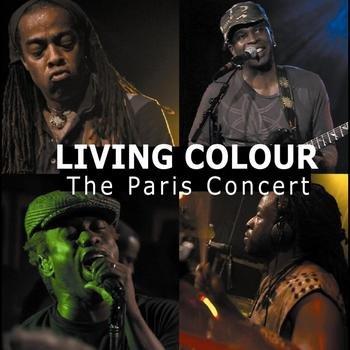 LIVING COLOUR the paris concert 2CD 2009 HARD ROCK FUNK