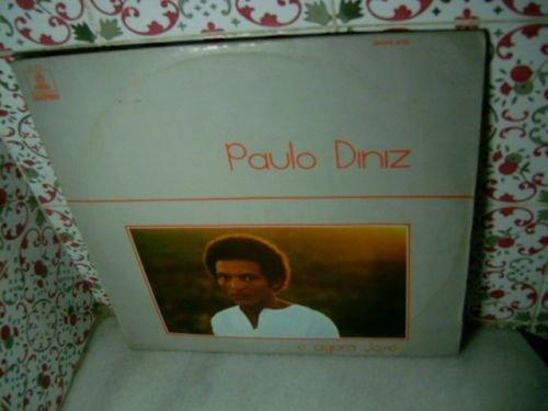 PAULO DINIZ ..E Agora Jose LP 1973 INSERT BRAZIL BLACK