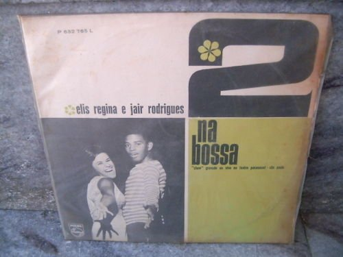 ELIS REGINA & JAIR RODRIGUES Dois Na Bossa LP 1965 ORIG
