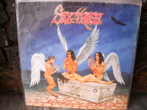 SEXTRASH Funeral Serenades LP 1992 SEX METAL NUDE COVER