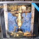 SEPULTURA Chaos A.D. LP 1993 ORIGINAL BRAZIL BONUS TRAC