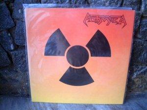 ATTOMICA S/T(1987) LP 1987 ORIGINAL BRAZIL SPEED TRASH