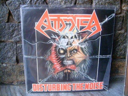ATTOMICA Disturbing The Noise LP 1991 BRAZIL SPEED TRAS