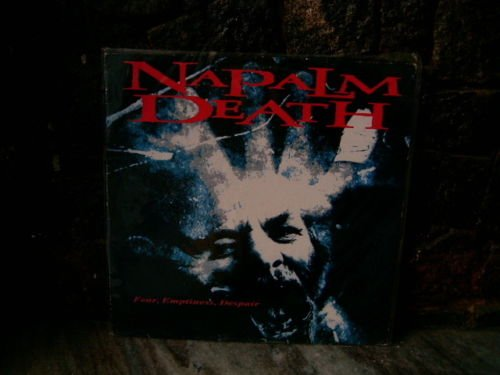 NAPALM DEATH Fear Emptiness Dispair LP 1994 ORIGINAL UN