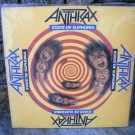 ANTHRAX State Of Euphoria LP 1989 NEAR MINT VINYL *