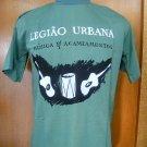 LEGIÃO URBANA música para acampamento T SHIRT GREEN L