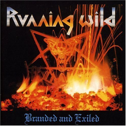 RUNNING WILD branded and exiled CD 1985 HEAVY METAL**