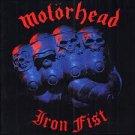 MOTORHEAD iron fist CD 1982 ROCK**