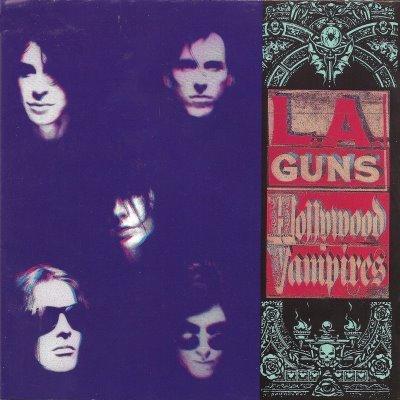 L.A. GUNS hollywood vampires CD 1991 HARD ROCK**