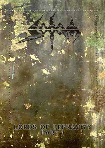 SODOM lords of depravity part 1 2DVD 2005 THRASH METAL