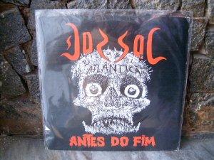 DORSAL ATLANTICA Antes Do Fim LP 1986 BRAZIL METAL