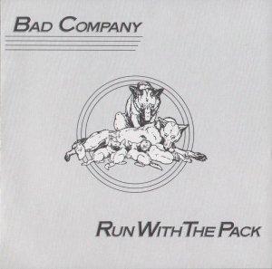 BAD COMPANY run with the pack MINI VINYL CD 1975 ROCK